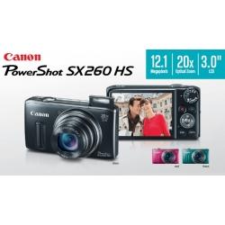 Canon PowerShot SX260 HS (Built-in GPS)